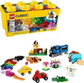 Caja Mediana Lego Classic 484 Fichas Nueva y Sellada