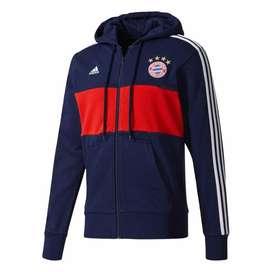 Casaca Adidas Capucha Fc Bayern Munich