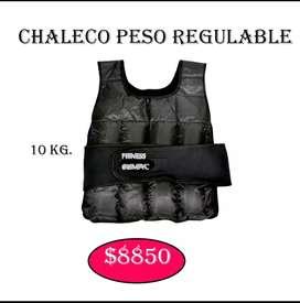 Chaleco peso REGULABLE