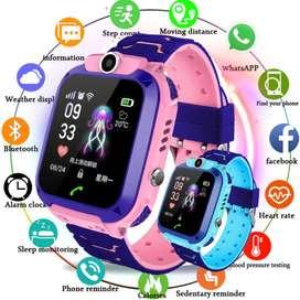 Reloj Para Niños Gps Smarwatch Contesta Llamadas Camara Q12