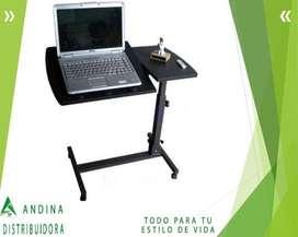 Mesa Graduable Para Laptop Ideal Para Trabajar En El Sofá