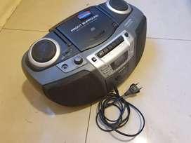 Vendo equipo de musica cd radio cassette (ver descripcion)
