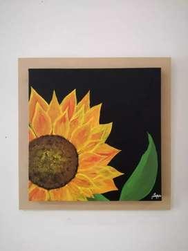 Increíbles cuadros en pintura acrílica sobre lienzo.