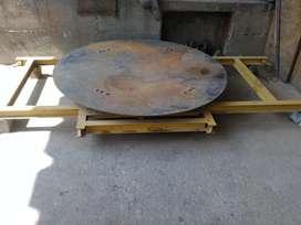 Maniobra y ubicación de equipos pesados de alto tonelaje
