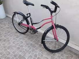 Bici playera 24 muy linda o permuto