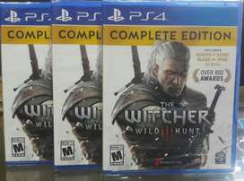 The Witcher 3 Wild Hunt Edicion Completa Ps4 Nuevo Sellado Stock