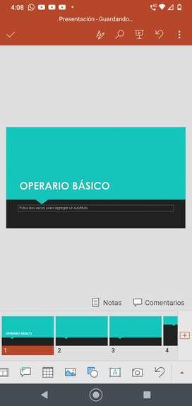 Operario básico