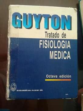 Tratado de fisiología medica Guyton & Hall 8° Edición