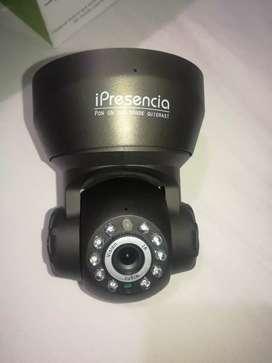 Vendo Camara de Vigilancia Wifi iPresencia 360 grados