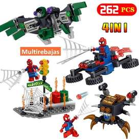 Nuevo Juguete Lego Para Niños De Super Heroes  4 En 1