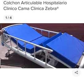 COLCHON ARTICULABLE ORTOPEDICO PARA CAMA CLINICA