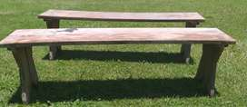 Bancos de madera1