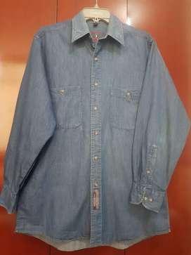 Vendo camisa jeans bass