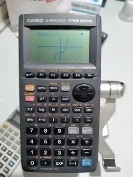 Calculadora fx 7400g plus graficafora estadística programable