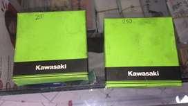 Anillos kawasaki ninja 250 año 2012
