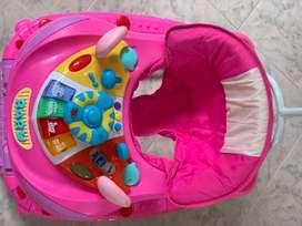 Caminador para bebé niña con sonido