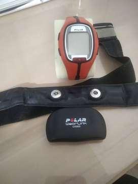 Remato un hermoso Polar RS300 X Monitor de frecuencia cardíaca reloj (Naranja)