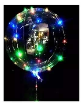 burbuja con luces led  Kit de globo burbuja con luces led