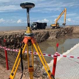 ALQUILER GPS RTK CON AGRIMENSOR - TOPOGRAFIA - DRONES