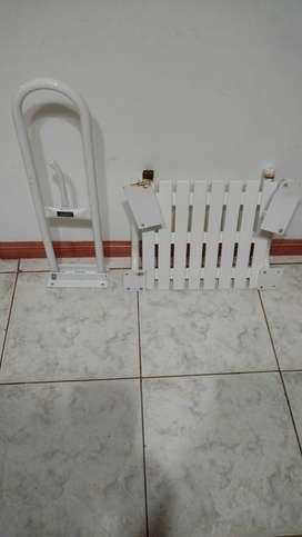 vendo soporte y silla para baño para discapacitado
