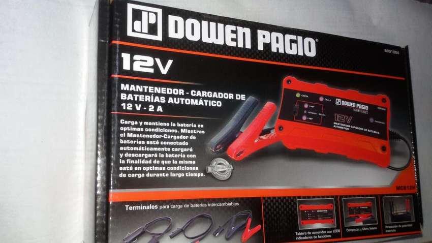 Cargador / Mantenedor de bateria 12v para tractor y vehiculos 0