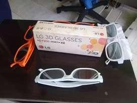 Gafas 3D y marca LG