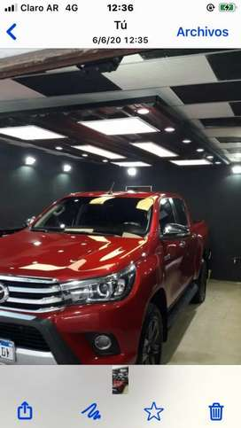Toyota Hilux SRX At 4x4 Impecable!