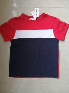 Camiseta Niño Talla 4 Marca Login
