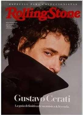 Revista Gustavo Cerati Rollingstones
