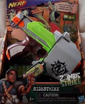 Pistola Nerf Zombie Side Strike A6765
