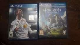 Vendo dos videojuegos