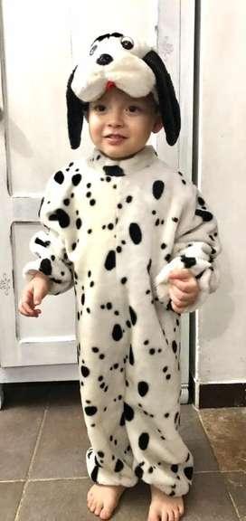 Disfraz perrito perro dalmata talla 2-4 años