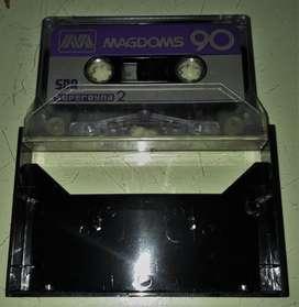 Cassette audio Magdoms 90 Un Solo Uso