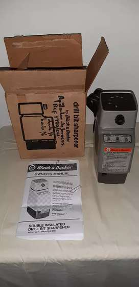 Drill bit sharpener modelo 7980/261 (nuevo)