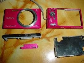 Carcasa cámara sony original dscw730