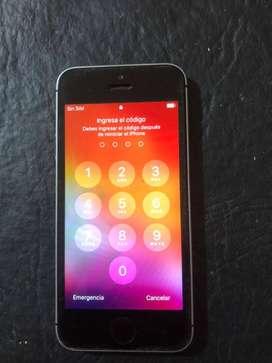 Iphone SE 32g Gris espacial LIBERADO