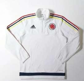 Buzo Entrenamiento Fútbol. Selección Colombia