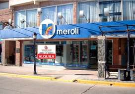 GRAN LOCAL COMERCIAL EN ALQUILER ( EX MEROLI HOGAR)
