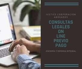 Abogados LOJA Justice Corp. CONSULTAS LEGALES ONLINE PREVIO PAGO
