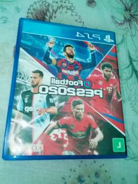 VENDO PES 2020 PARA PS4 EXCELENTE ESTADO