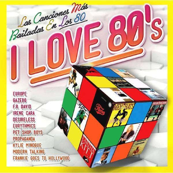 COMPILADO MUSICA DE LOS 80 (5.000 TEMAS) 8 DVD