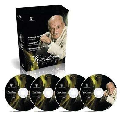 Rene Lavand, El maestro 4 dvds 0