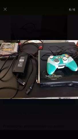 Xbox 360 s + juegos