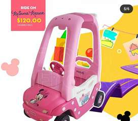 Carro de Minnie y Mickey  mouse