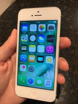 Iphone 5 16gb blanco muy buen estado