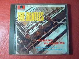 CD The Beatles Please Please Me. Editado por Parlophone en 1963