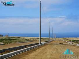 Terrenos venta crédito directo a 35 minutos al sur de Manta / SD5