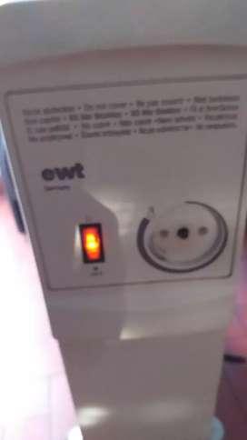 Estufa radiador 1500 watts