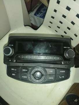 Chevrolet tracker radio