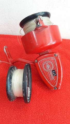 reel frontal calador 571 + carretel